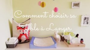 comment choisir sa table a langer