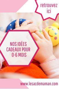 idées cadeaux pour bébés