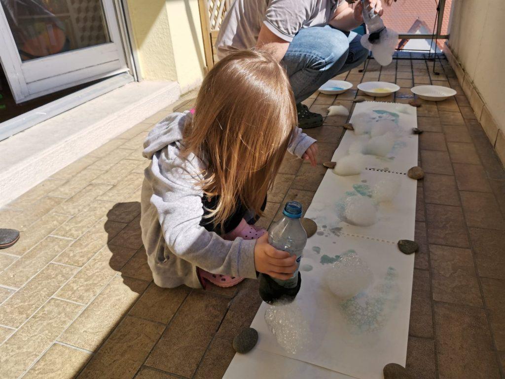 peinture a bulle