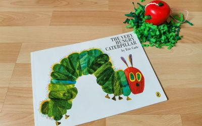 Livre : The very hungry caterpilar