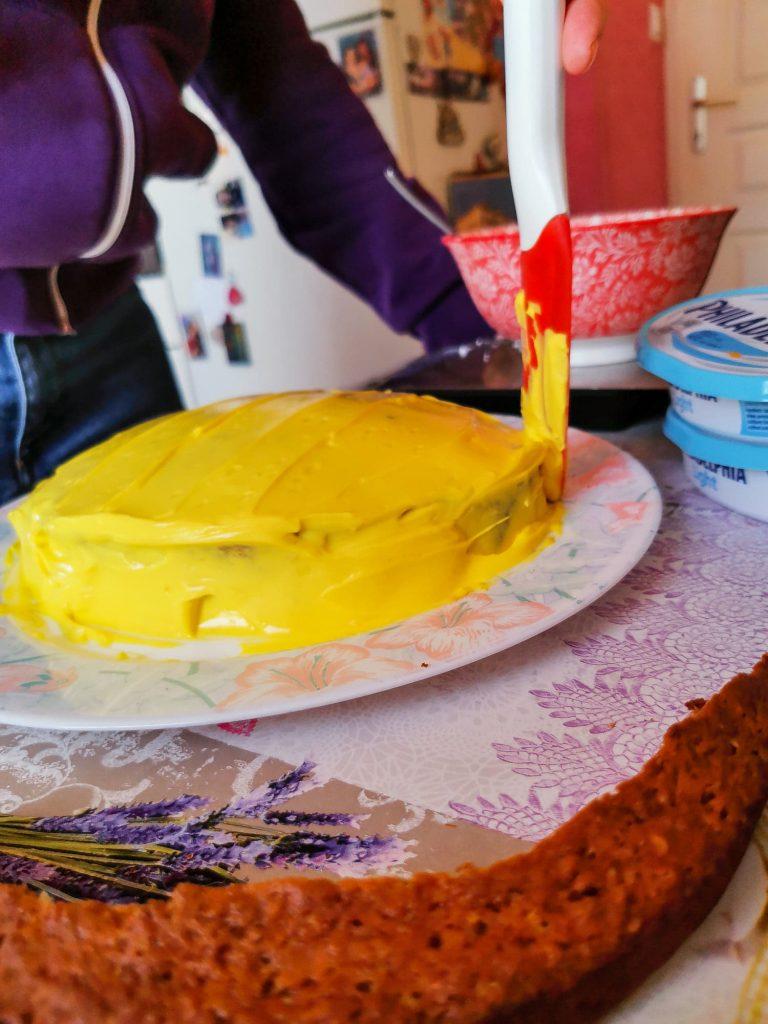 carrot cake poussin