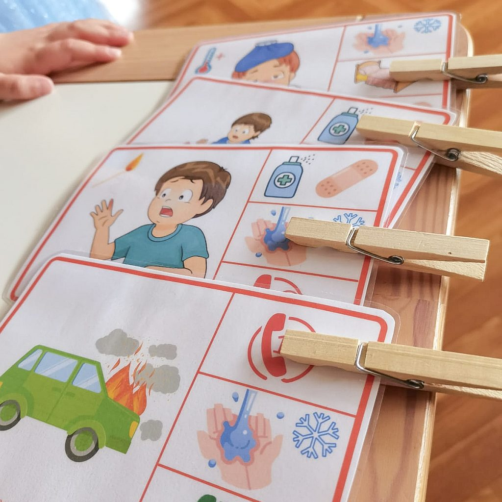 activité enfant premiers secours